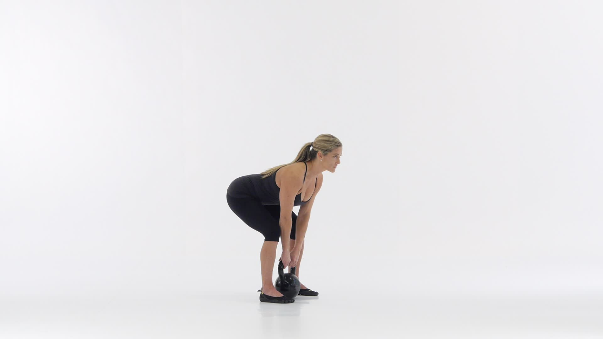 Deadlift Double Leg Double Arm With One Kb Functional